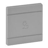 755262 - Лицевая панель для механизмов BUS/SCS с символом «Светорегулятор», 2 модуля Legrand Valena Life (алюминий)