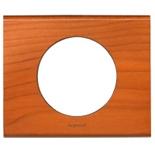 069171 - Рамка однопостовая Legrand Celiane, прямоугольная, 100х82мм, натуральное дерево (кедр)