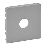 754762 - Лицевая панель для розеток ТВ Legrand Valena Life (алюминий)