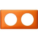 - Рамка 2-постовая Legrand Celiane, прямоугольная, 161х82мм (оранж пунктум)