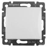 770092 - Выключатель двухполюсный, влагозащищенный IP44, Legrand Valena (белый)
