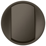 065204 - Лицевая панель одноклавишного выключателя/переключателя с кольцевой подсветкой, Legrand Celiane (графит)