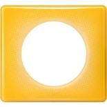066671 - Рамка однопостовая Legrand Celiane, прямоугольная, 90х82мм (песочный муар)