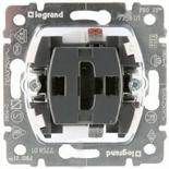 775801 - Механизм выключателя Legrand Galea Life без подсветки, 10AX, одноклавишный