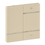 754741 - Лицевая панель для светорегулятора-радиоприемника Legrand Valena Life (слоновая кость)