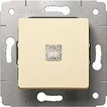 773710 - Выключатель с подсветкой, 10A, Legrand Cariva (слоновая кость)