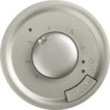 068549 - Лицевая панель для термостата с датчиком для теплого пола, Legrand Celiane (титан)