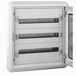 020013 - Щит электрический встраиваемый, 3 рейки, 72М, Legrand XL3 160
