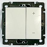 770074 - Диммер (Светорегулятор), 600 Вт Легранд Валена (белый)