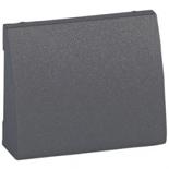771285 - Лицевая панель для вывода кабеля Легранд Галеа Лайф, тёмная бронза