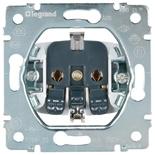 775920 - Механизм розетки электрической с заземлением, Legrand Galea Life, автоматические клеммы