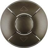 067955 - Лицевая панель для механизма управления рольставнями, Легранд Селиан (графит)