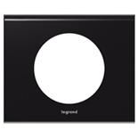 069151 - Рамка однопостовая Legrand Celiane, прямоугольная, 100х82мм, Corian® (Nocturne)