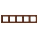 672575 - Рамка 5-ти постовая Legrand Etika (какао)