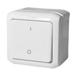 782309 - Кнопка без фиксации Legrand Quteo IP 44 (белая)