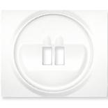 771000 - Лицевая панель для простой акустической розетки Legrand Galea Life, белая