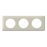 068753 - Рамка 3-постовая Legrand Celiane, 232×82мм, пластик (светло-бежевый)