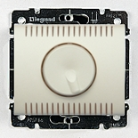 771559 + 775910 - Светорегулятор (диммер) поворотный, 1000 Вт, Legrand Galea Life (жемчуг)