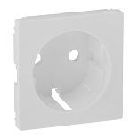 755250 - Лицевая панель для силовой розетки 2К+З с зажимами Legrand Valena Life (белая)
