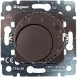 775688 - Механизм термостата для теплых полов, 16А, с датчиком температуры, Legrand Galea Life (тёмная бронза)