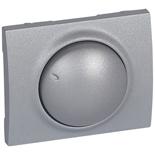 771368 - Лицевая панель для поворотных светорегуляторов (диммеров) Legrand Galea Life мощностью 400Вт, алюминий
