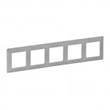 754135 - Рамка пятипостовая Legrand Valena Life (алюминий)