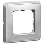 773671 - Одноместная рамка, Legrand Cariva (алюминий)