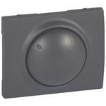 771268 - Лицевая панель для поворотных светорегуляторов (диммеров) Legrand Galea Life мощностью 400Вт, тёмная бронза