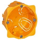 080041 - Монтажная коробка встраиваемая, 1-постовая, 40мм, d=67мм, для сухих перегородок, Legrand Batibox