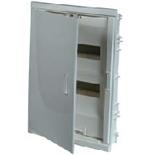 001412 - Щиток встраиваемый, 2 рейки, 24+4М, Legrand Nedbox (белая скругленная дверь)