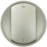 068321 - Лицевая панель для выключателя двухполюсного, Legrand Celiane (титан)