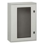036276 - Щит Legrand Marina из полиэстра с остеклённой дверцей, вертикальный, IP66 IK10, белый (720x510x250мм)
