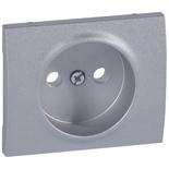 771326 - Лицевая панель для электрической розетки Legrand Galea Life без заземления, алюминий