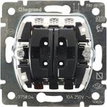 775804 - Механизм клавишного выключателя для управления жалюзи/рольставнями, Legrand Galea Life