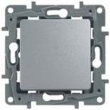 672411 - Выключатель (переключатель) Legrand Etika Plus (Алюминий)