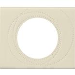 069431 - Рамка однопостовая Legrand Celiane, прямоугольная, 100х83мм, кожа (макиато)