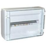 401656 - Щиток электрический навесной, 1 рейка, 18М, 63А, Legrand XL3 125 (прозрачная дверь)