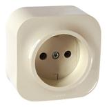 782240 - Розетка электрическая без заземления Легранд Кутео (слоновая кость)