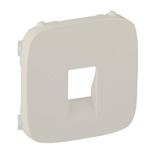 755366 - Лицевая панель для одиночной аудиорозетки с пружинными зажимами Legrand Valena Allure (слоновая кость)