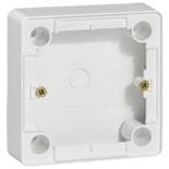 773696 - Коробка для накладного монтажа 26 мм, Legrand Cariva (белая)