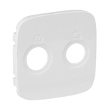 754825 - Лицевая панель для TV-SAT розеток Legrand Valena Allure (белая)