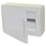 401646 - Щиток электрический навесной, 1 рейка, 18М, 63А, Legrand XL3 125 (белая дверь)