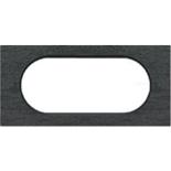 069375 - Рамка Legrand Celiane, 4/5М, прямоугольная, 170х82мм, камень (ардезия)