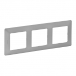 754133 - Рамка трехпостовая Legrand Valena Life (алюминий)
