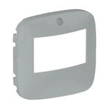 752379 - Лицевая панель для датчика движения без ручного управления Легранд Валена Аллюр (алюминий)