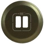 067956 - Лицевая панель для двойной зарядки USB, Legrand Celiane (графит)