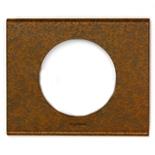 069261 - Рамка однопостовая Legrand Celiane, прямоугольная, 100х82мм, металл (патина феррум)