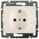 771524 - Розетка электрическая с механизмом выталкивания вилки, Legrand Galea Life, 16А (жемчуг)