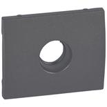 771266 - Лицевая панель для простой TV-розетки Legrand Galea Life, тёмная бронза