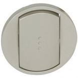 068303 - Лицевая панель для выключателя/переключателя с подсветкой, Легранд Селиан (титан)